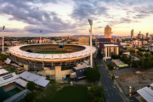 Aerial Drone Photographs Wooloongabba Sports Stadium