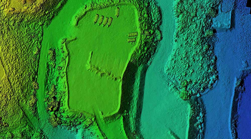 Drone mapping digital elevation model by DroneAce