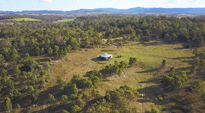 Brisbane Drone Services - Drone photography of BunyipSprings Farmstay - Tourism promotion