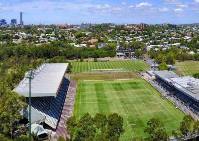 Aerial Drone Photography Brisbane Ballymore Park