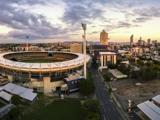 Aerial Drone Photography The Gabba