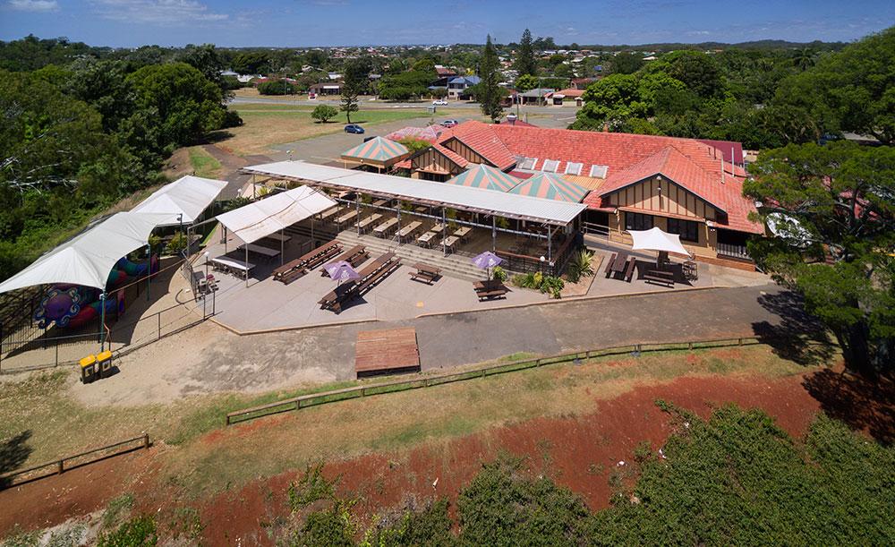 Aerial Drone Photography Brisbane Redland Bay Hotel