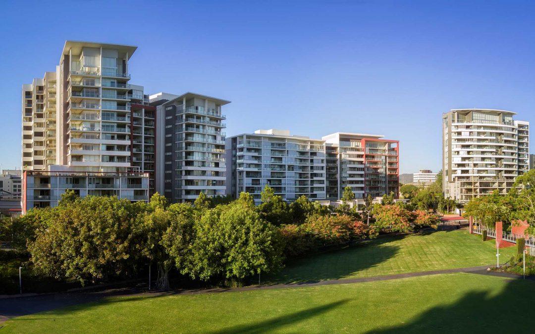 Brisbane drone panorama photography montage