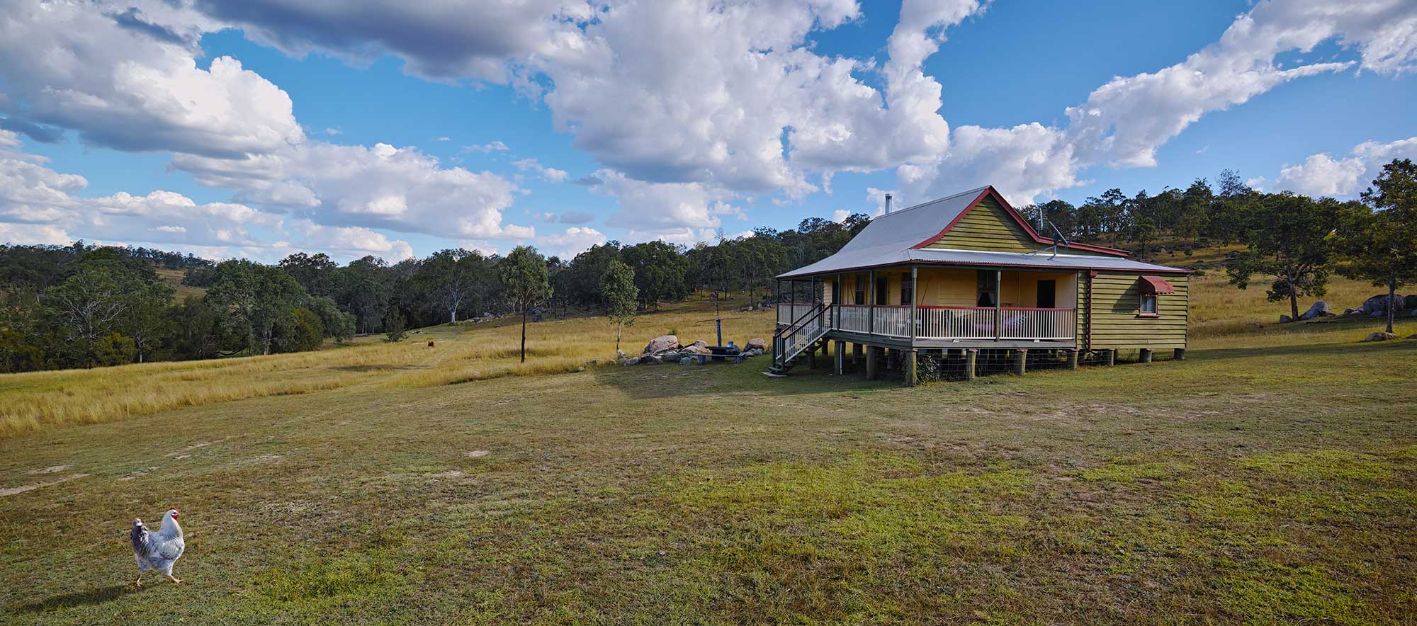 BunyipSprings Farmstay Drone Video and Photography - BunyipSprings Farmstay Cottage