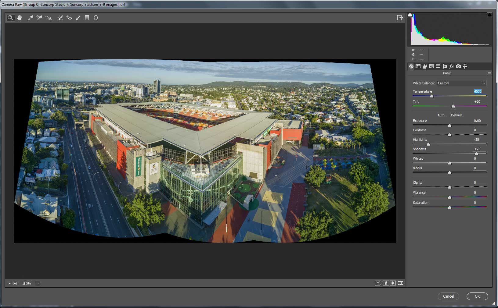 Suncorp Stadium Aerial Drone Panorama HDR DroneAce