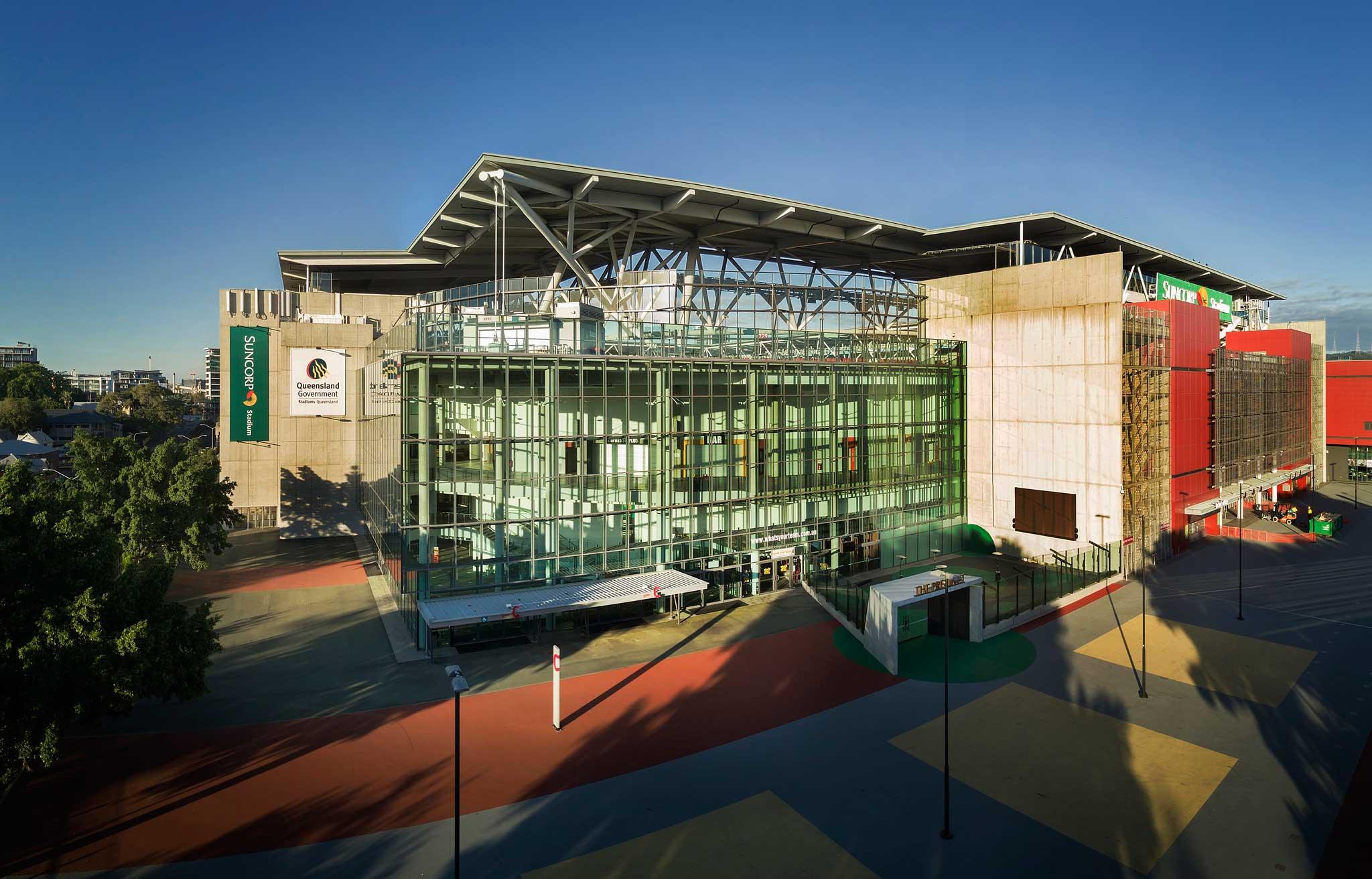 Suncorp Stadium Aerial Drone Panorama 15m AGL -DroneAce