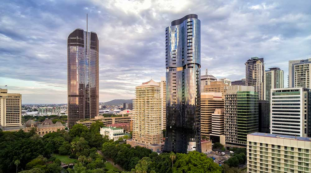 Drone Photography Gallery - Brisbane Abian Residential Tower DroneAce