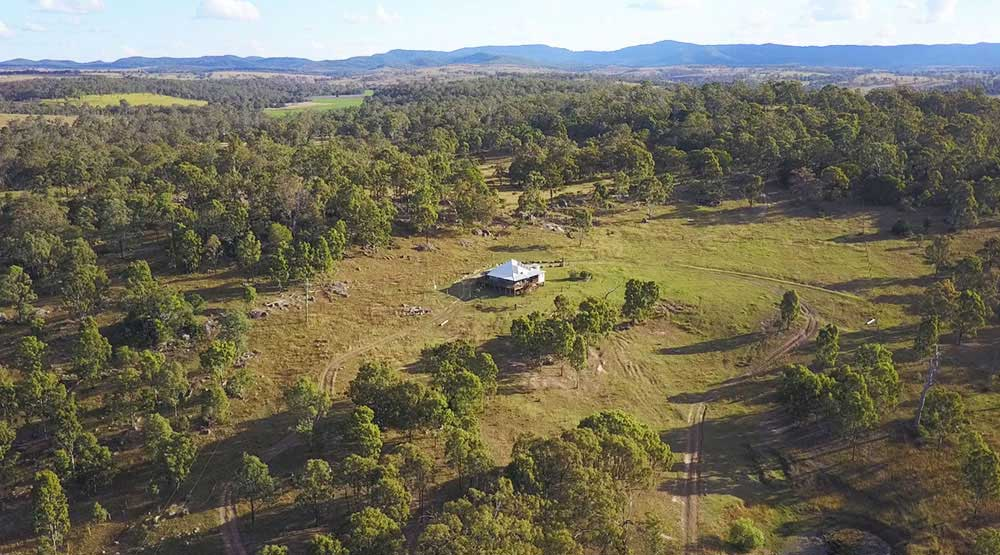 BunyipSprings Farmstay Drone Video