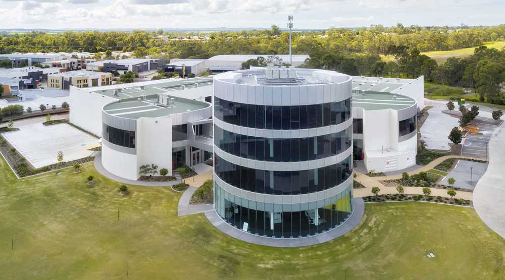 Drone Photography Gallery - Brisbane commercial complex for lease - DroneAce