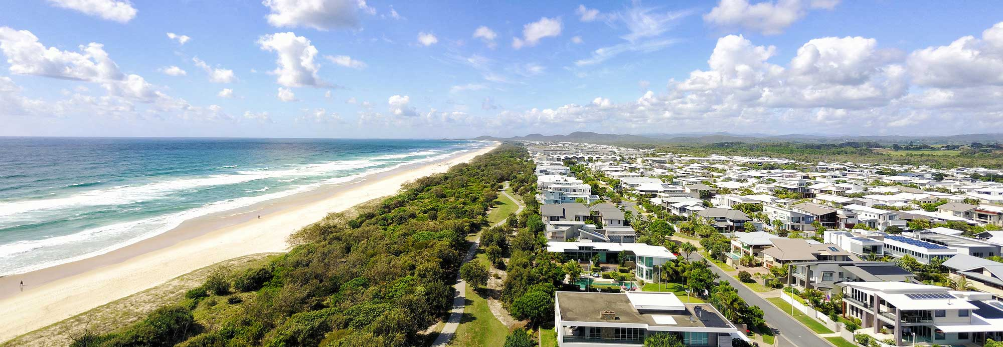 Drone panorama photography Gold Coast Broadwater DroneAce