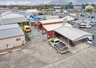 Titan Garages & Sheds Aerial Photography