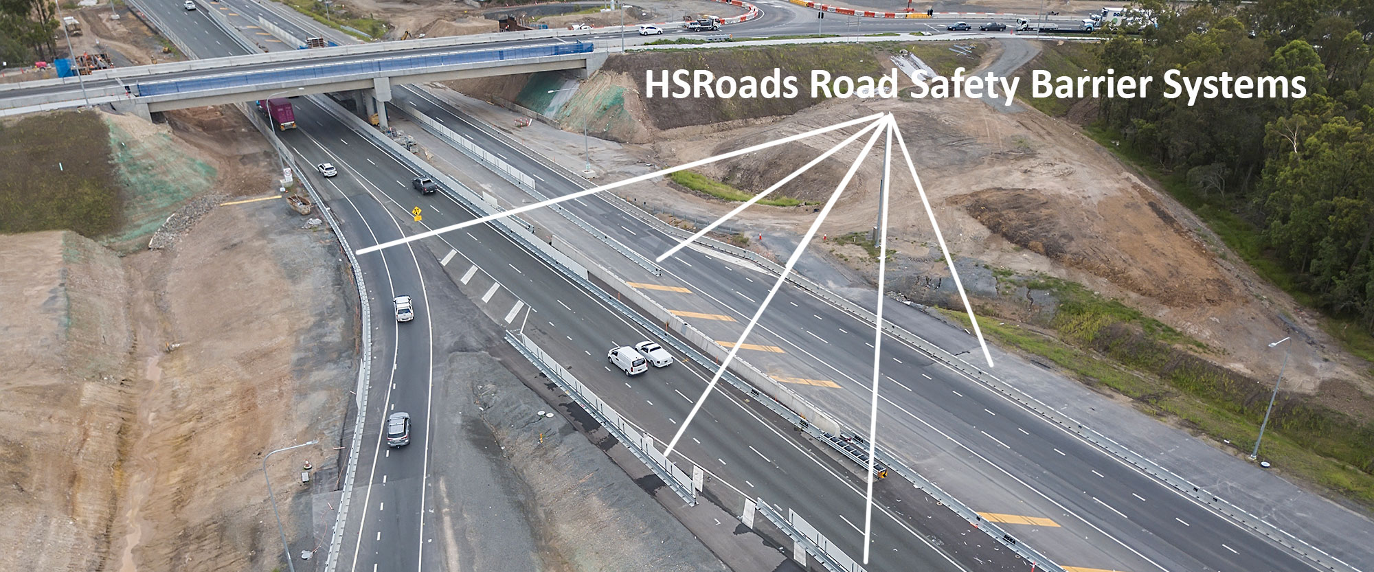 30 metres in the air - Aerial Drone Photography for HSRoads Logan Enhancement Project DroneAce 01
