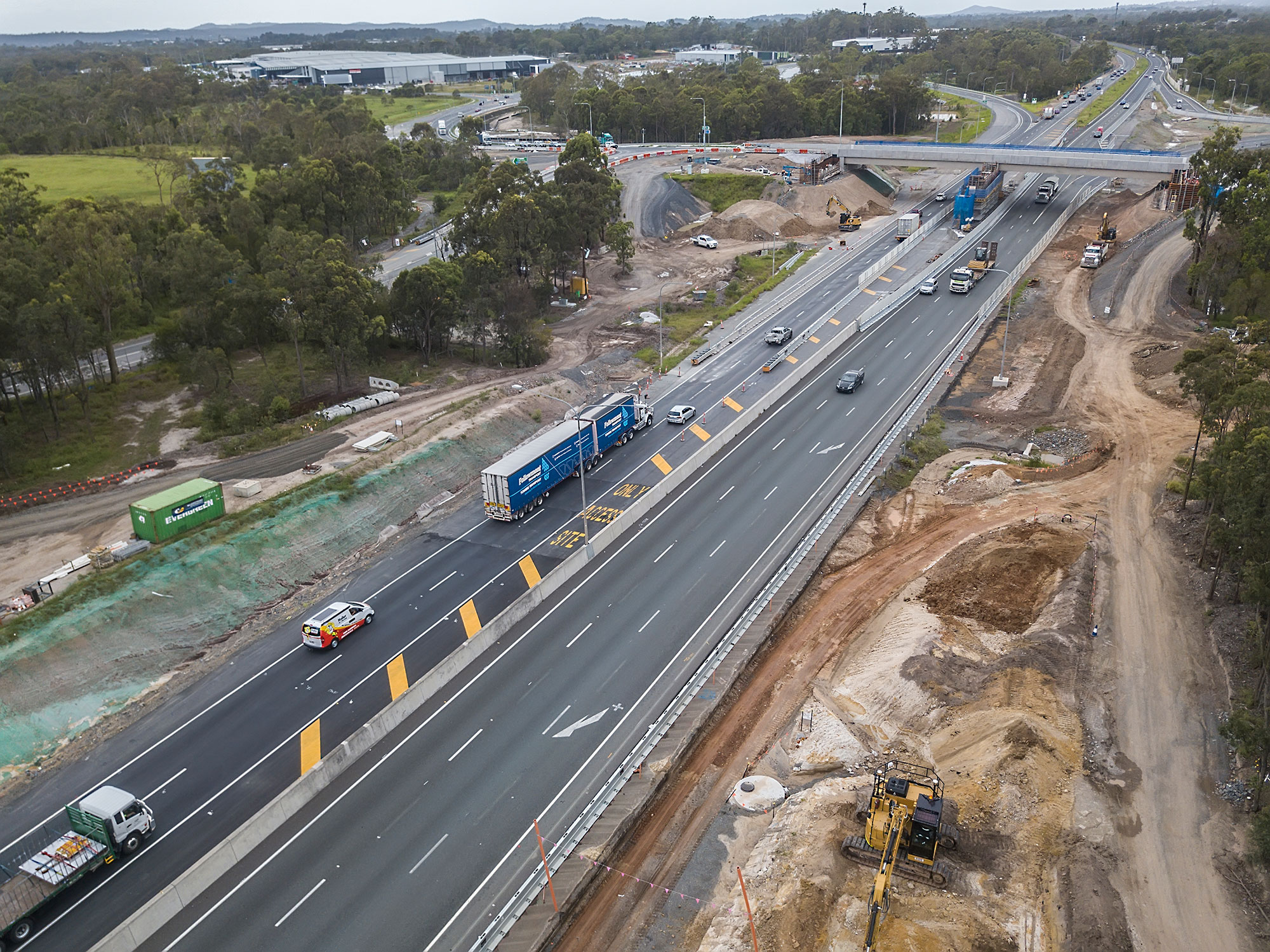 30m above the ground - Aerial Drone Photography for HSRoads Logan Enhancement Project DroneAce