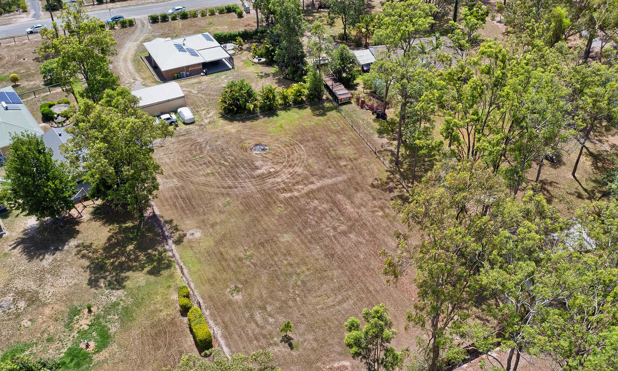 Aerial drone photography at 39 Dover Cres flagstone For Elders Jimboomba