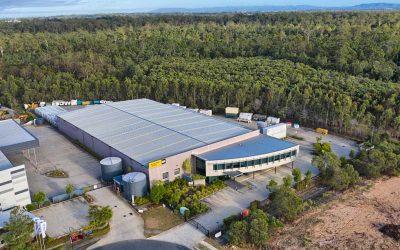 Drone Photography at Brisbane suburb of Larapinta.
