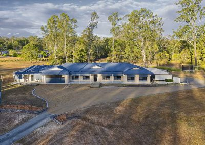 Aerial drone photography 79 Paula Rd South Maclean Elders Real Estate DroneAce