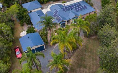 Drone Photography Acreage Real Estate Sugar Gum Court Flagstone