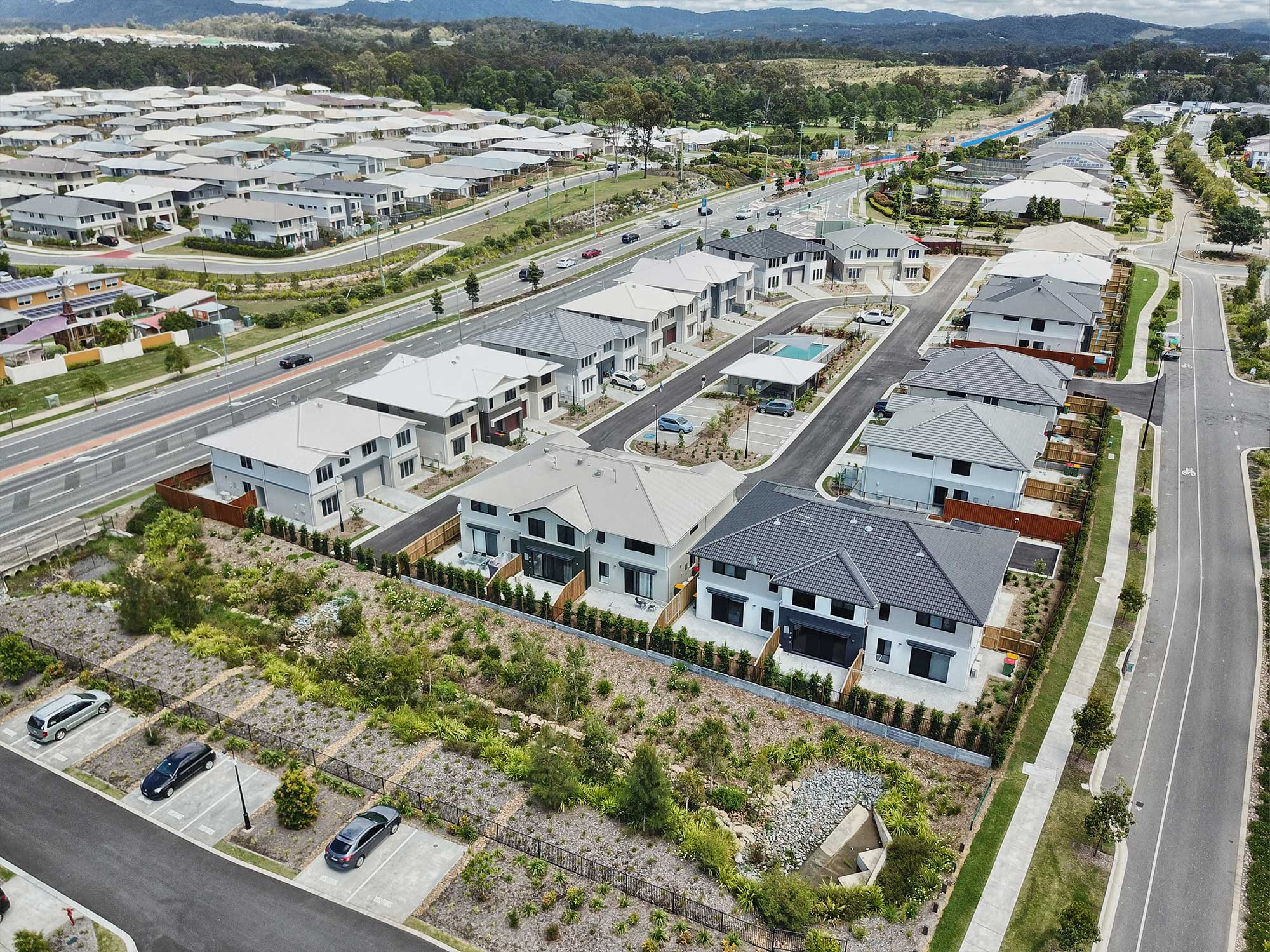 Aerial drone Photography Gainborough Views Pimpana DroneAce Brisbane