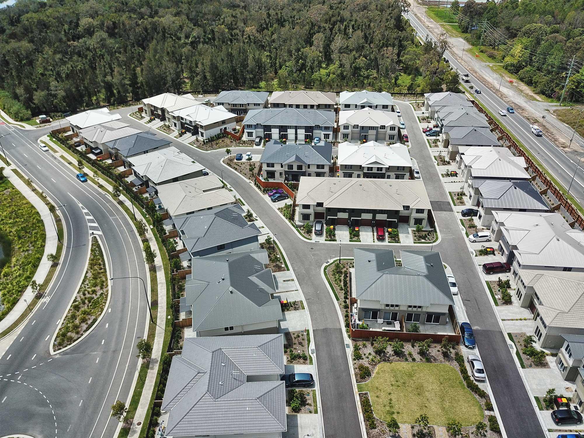 Aerial drone Photography Gainborough Views Pimpana DroneAce Brisbane