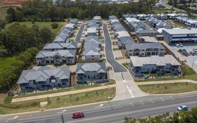 Aerial Photography at Brays Rd Griffin of Master Planned Estate