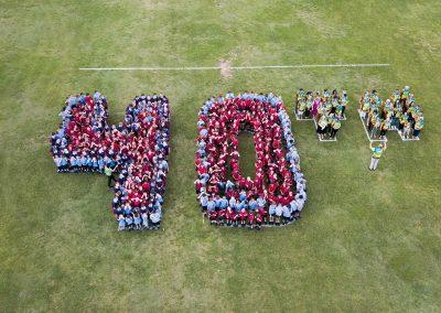 Aerial drone photography of St Edwards School Daisy Hill for MSp Photography - Drone Ace Brisbane