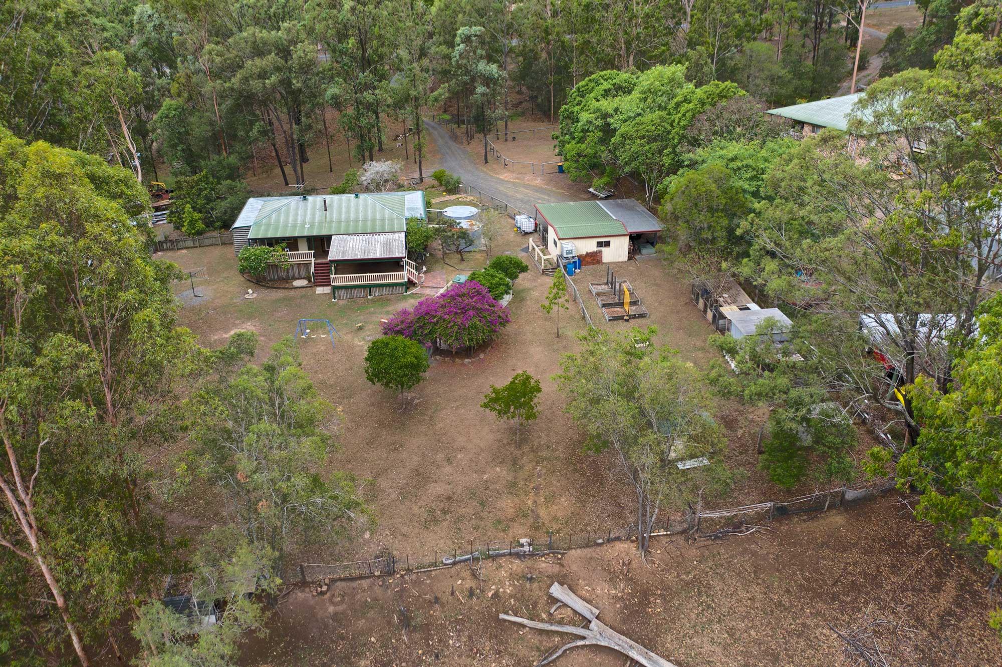 Acreage  Aerial Drone Photography at Cedar Valley