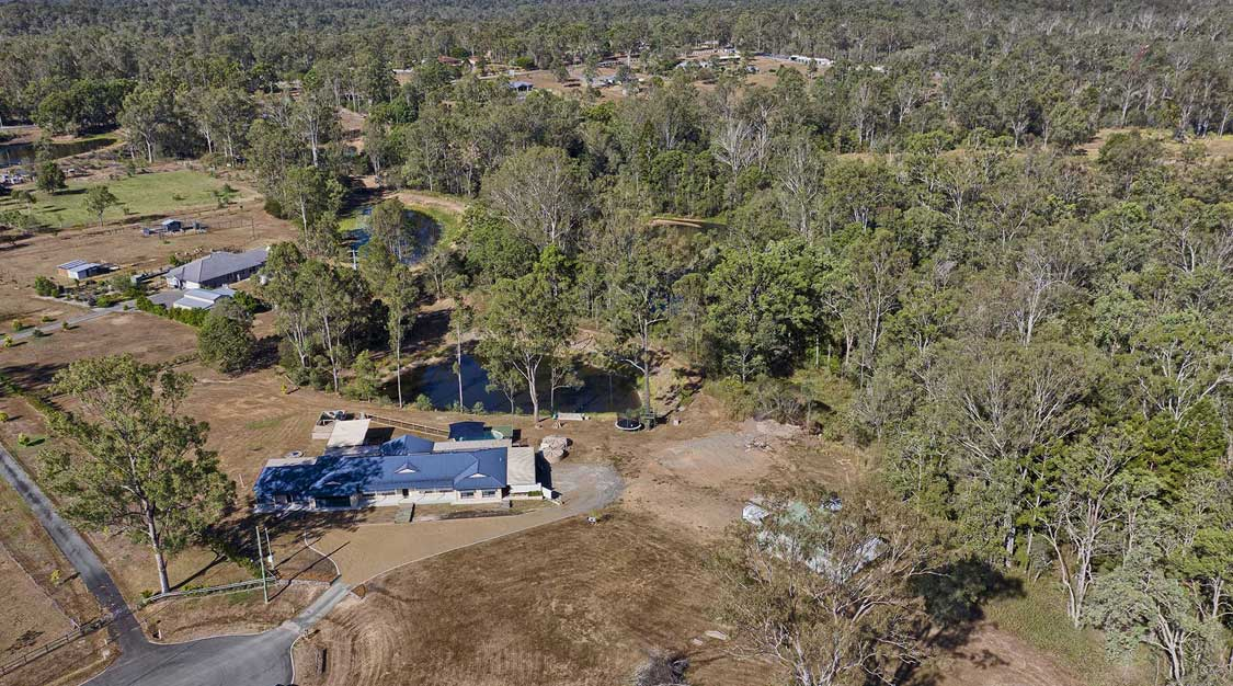 Drone photography at South Maclean for Elders Jimboomba