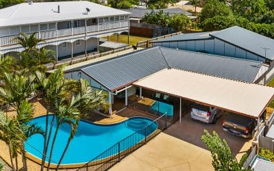 Drone photography of home for sale at Victoria Point