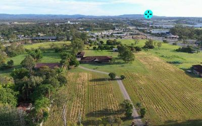 360 degree drone panorama over Richlands Brisbane