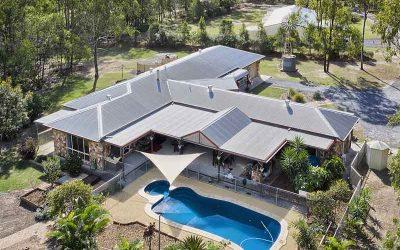Drone Photography Acreage Real Estate 56 Sandpiper St Jimboomba