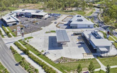 Drone photography of Flagstone Village for CBRE