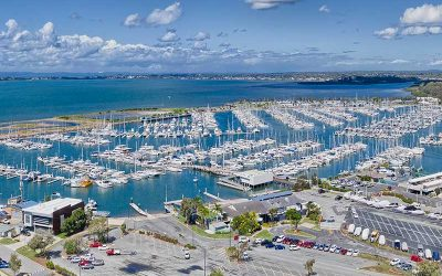 Drone photography Manly Boat Club & Redland Bay