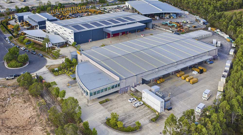 DroneAce Brisbane drone photography - large format warehouse leasing