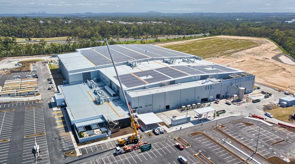 DroneAce Brisbane drone photography - large format building sales and lease