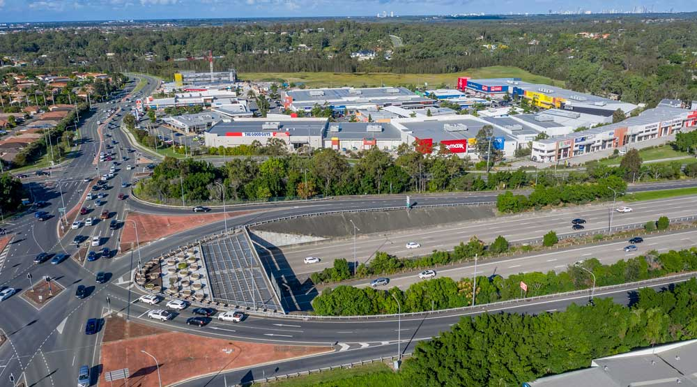 DroneAce Brisbane drone photography - shopping centre leasing