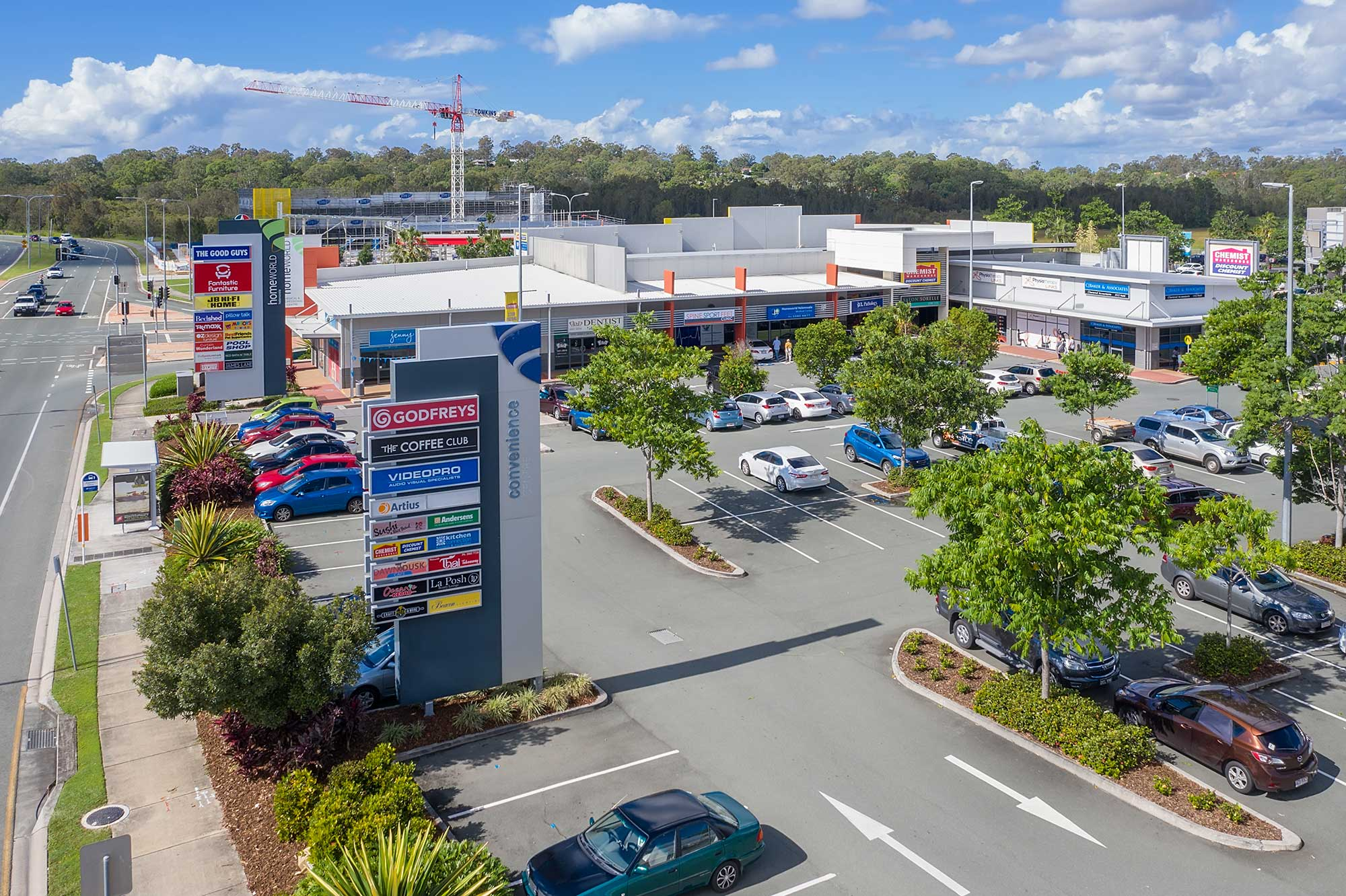Homeworld Helensvale drone photography from 10 metres above the ground