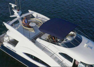 Filming motor cruiser AKI Gold Coast Spit promotional video