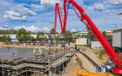 Construction site drone video for INTREC Management
